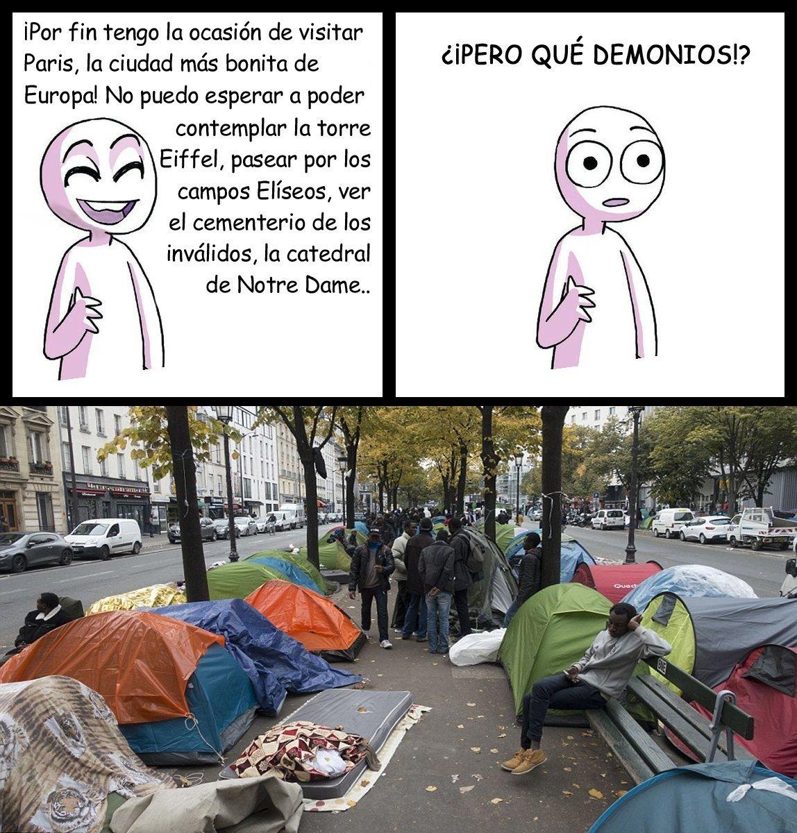 Pobre Paris :( - meme