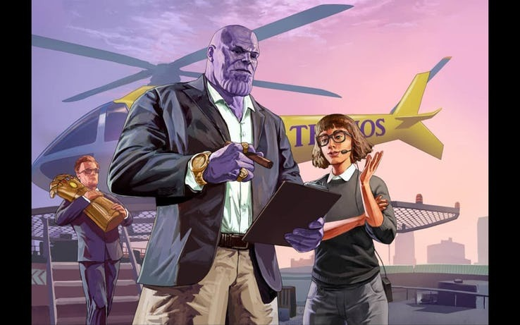 Grand Theft Stones - meme