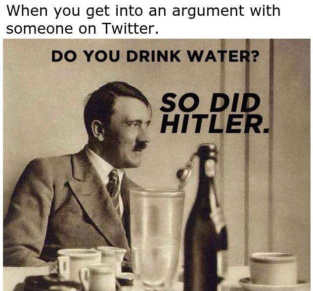 Twitter arguments - meme
