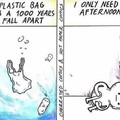 Plastic bags over my head