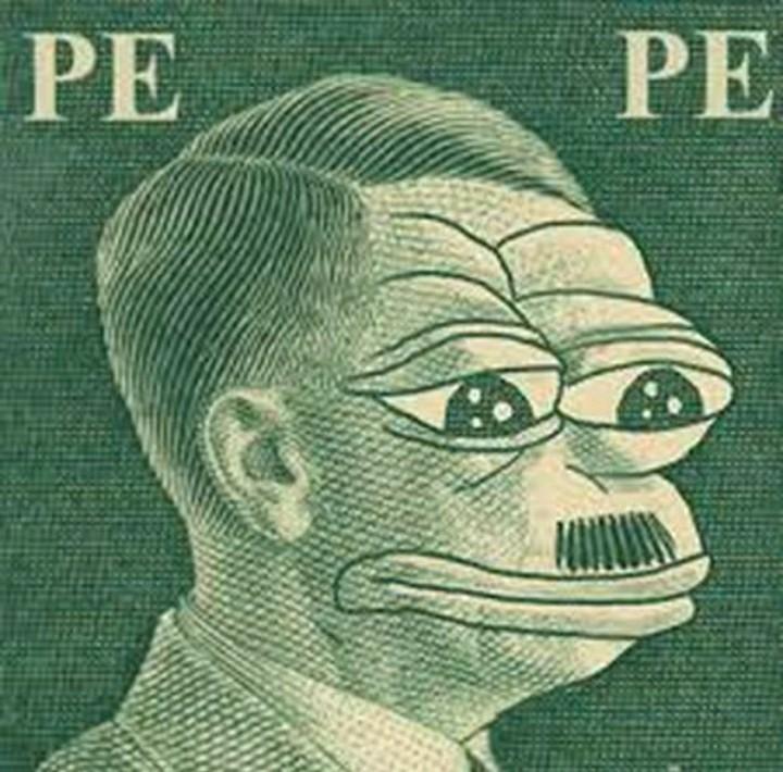 Pepe nazista - meme