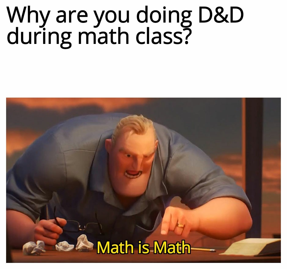 Math is Math - meme