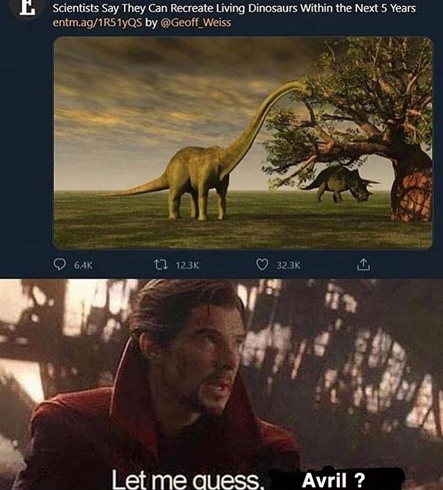 Les scientifiques disent qu'ils peuvent recréer des dinosaures vivant d'ici les 5 prochaines années - meme