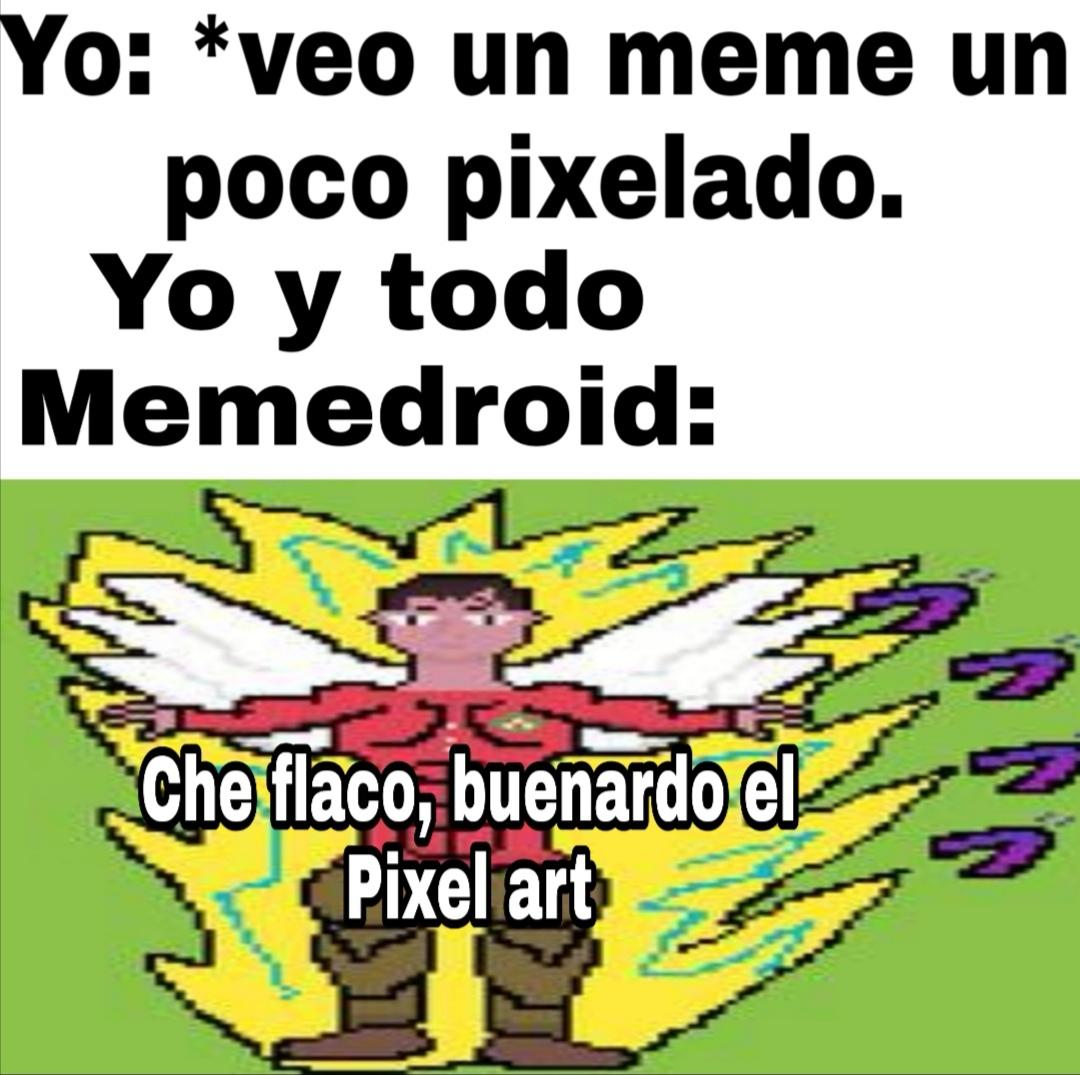 Pixel art - meme
