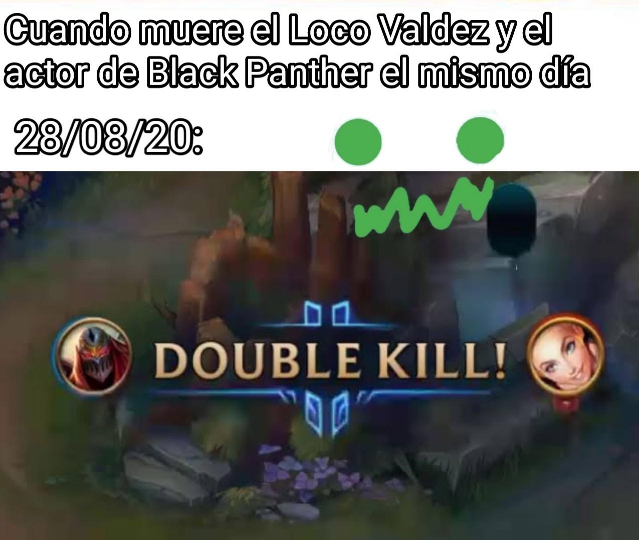 Matanza doble - meme
