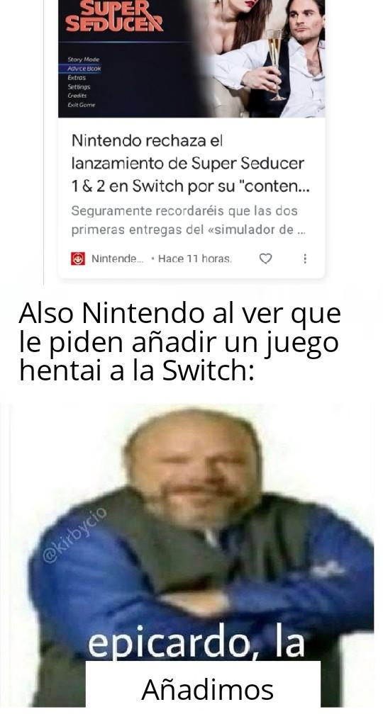 Hentai gud sexo bad - Nintendo - meme