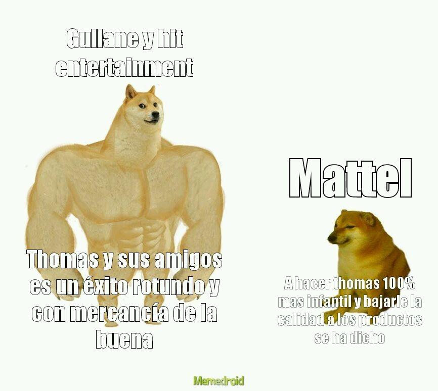 Solo fans de thomas entenderan :greek: - meme