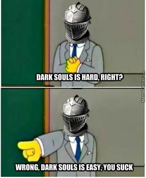 Dark souls os love - meme