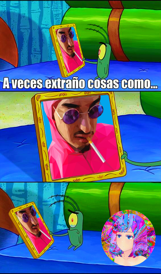 Extraño a pinkguy - meme