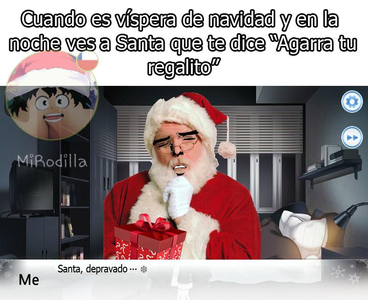 Santa Depravado - meme