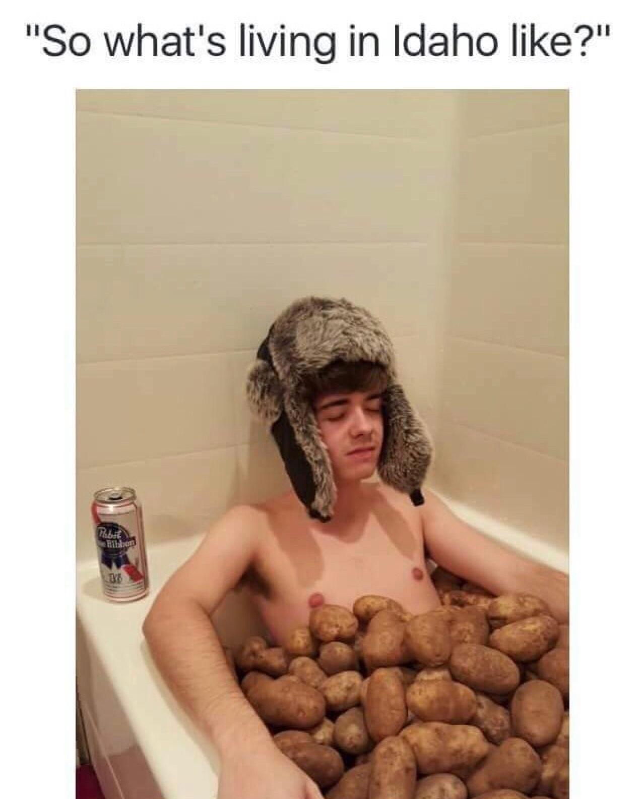 potatoes - meme