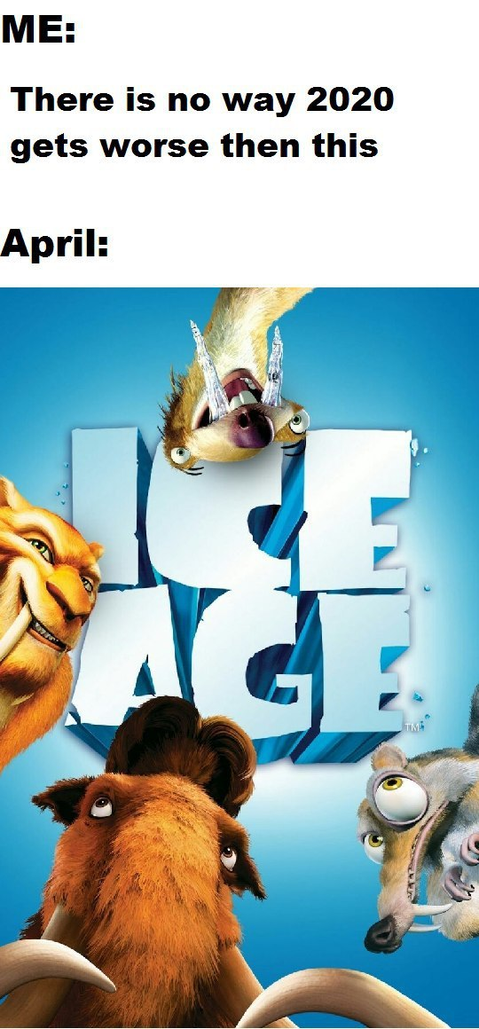 Ice Age Baby returns - meme