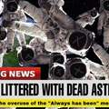 Space is littered with dead astronauts