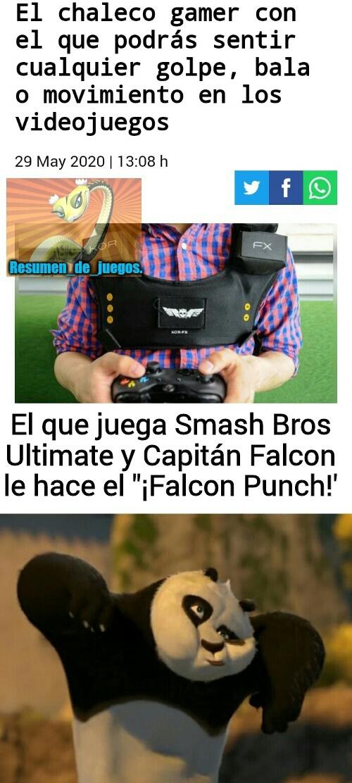 FALCON PUUUNCH - meme