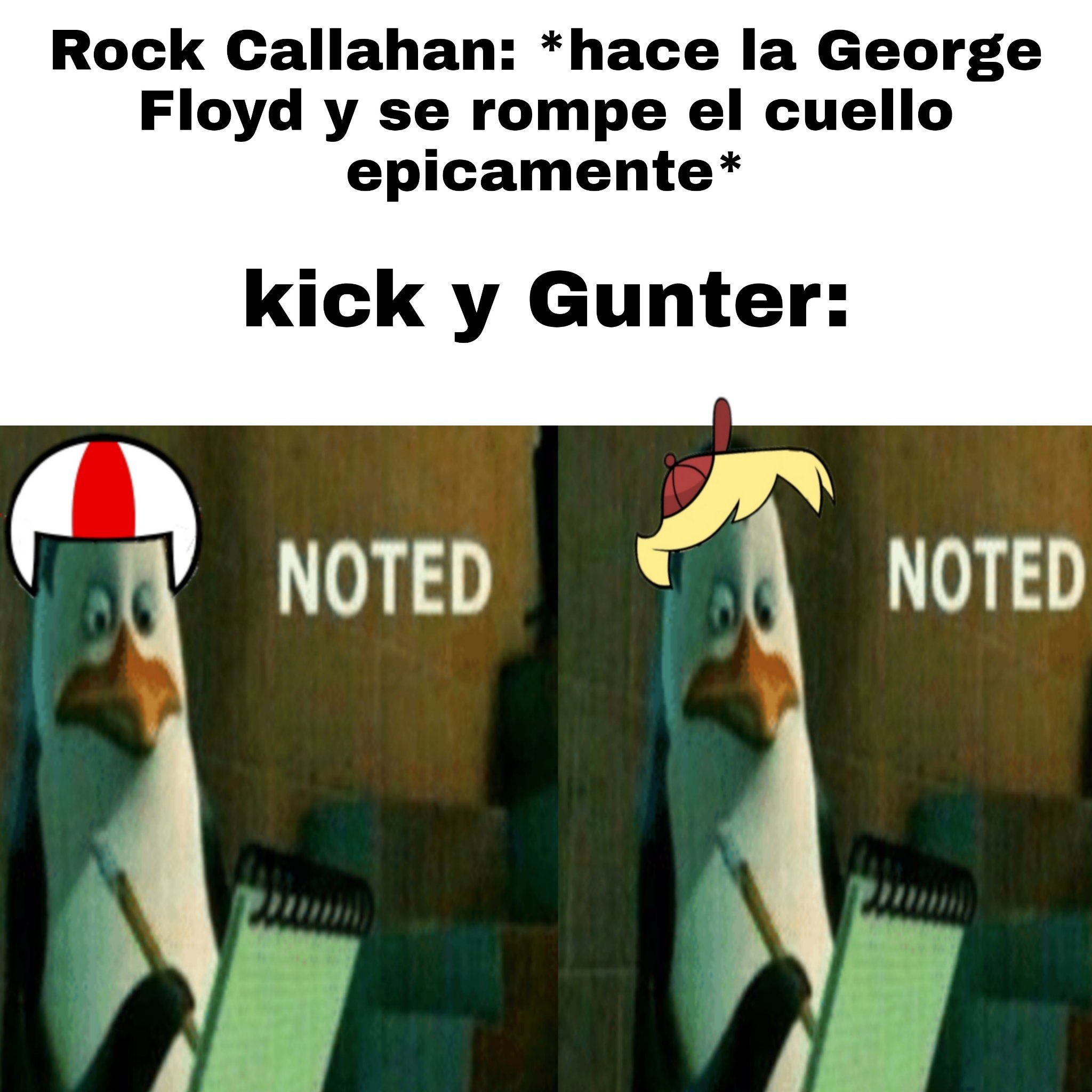 Un capo el rock Callahan - meme