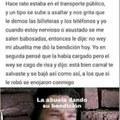 """""""LA BENDICIÓN DE LA ABU ES PODER"""""""
