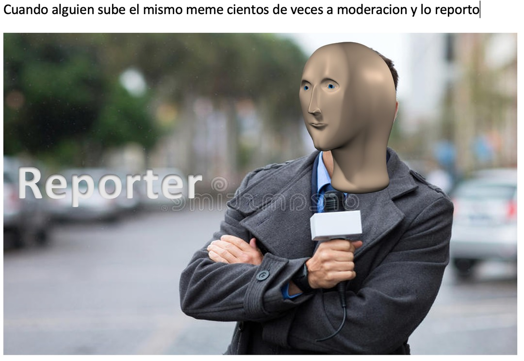 reporter - meme