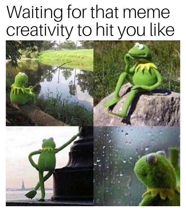 *Intense thinking* hmmm - meme