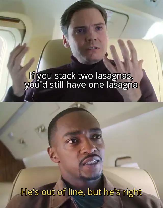 Lasagna - meme