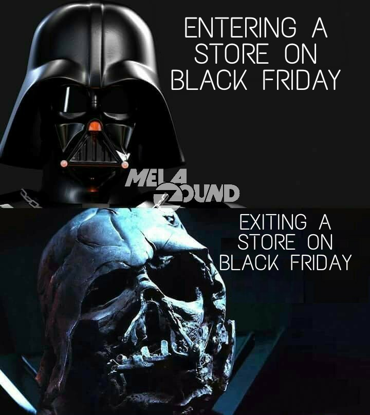 Darth Friday - meme