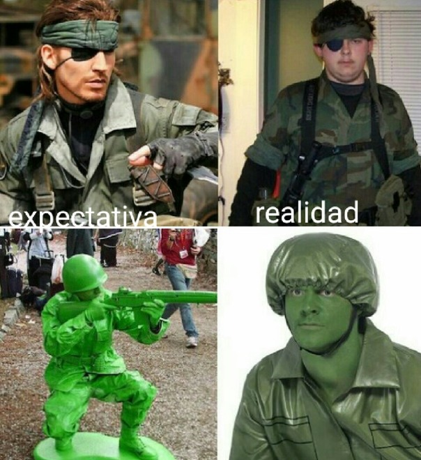 Cosplay fail - meme