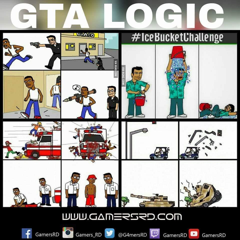 Logica de GTA - meme