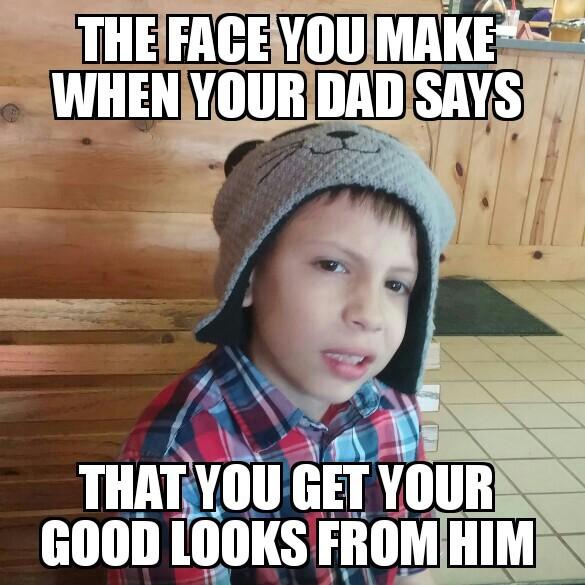 Even his family agrees - meme