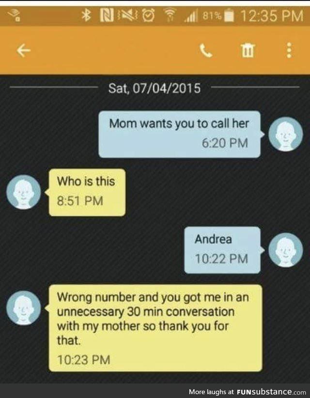 Call your mom - meme