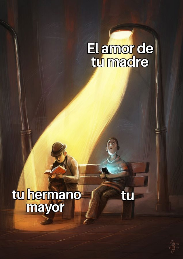 Amor de madre - meme