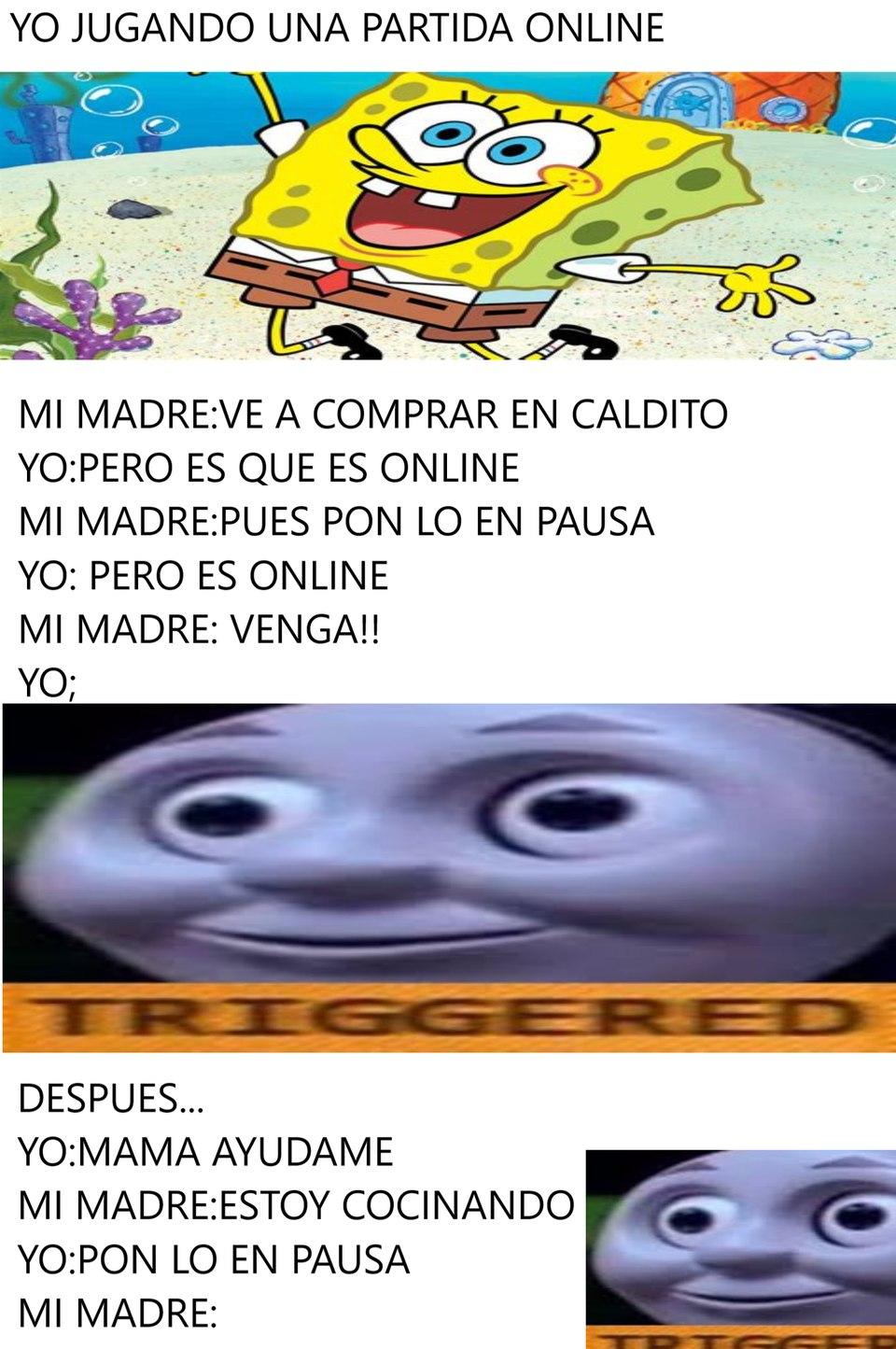 MI MADRE Y YO - meme