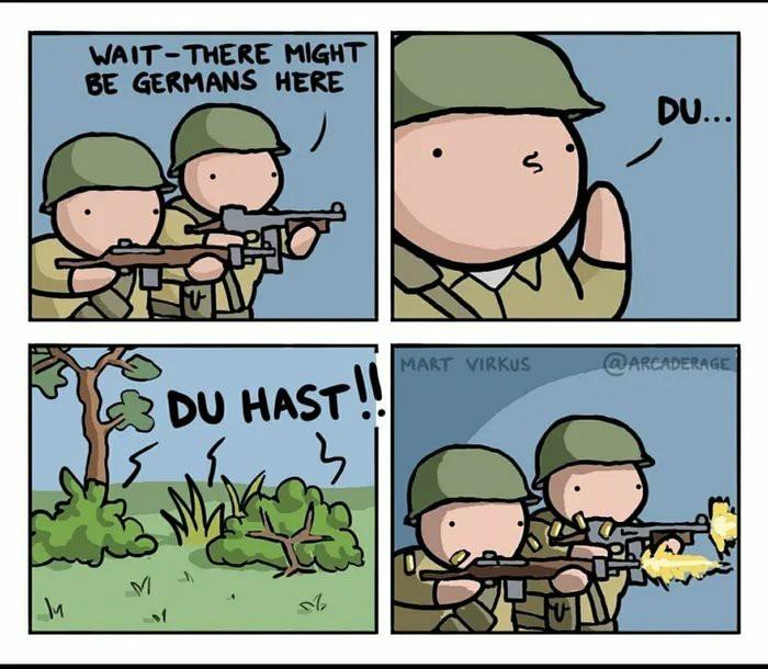 DU DU HAST - meme
