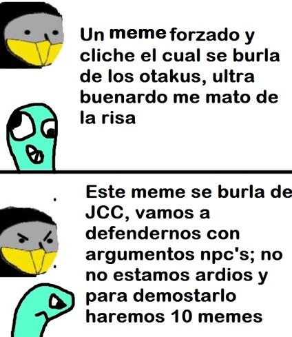 típico de jcc - meme