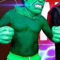 Hulk en las drogas de las drogas