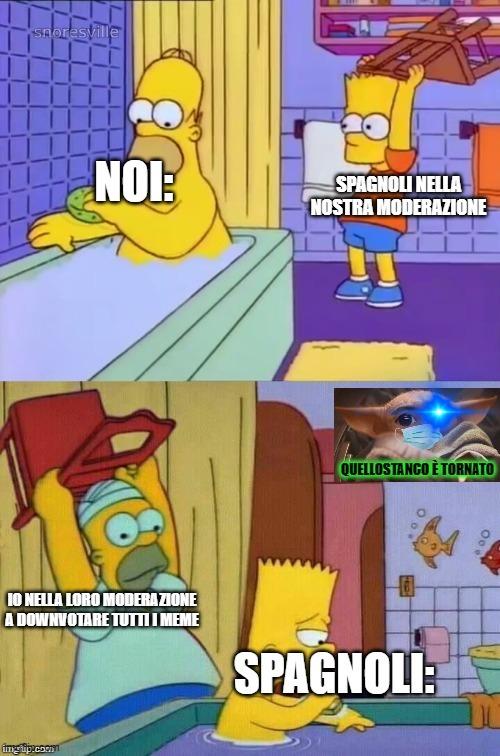 SONO TORNATO! Stando al meme, sto facendo questo da quando ho saputo di sti spagnoli che ci stanno cercando di rovinare il server