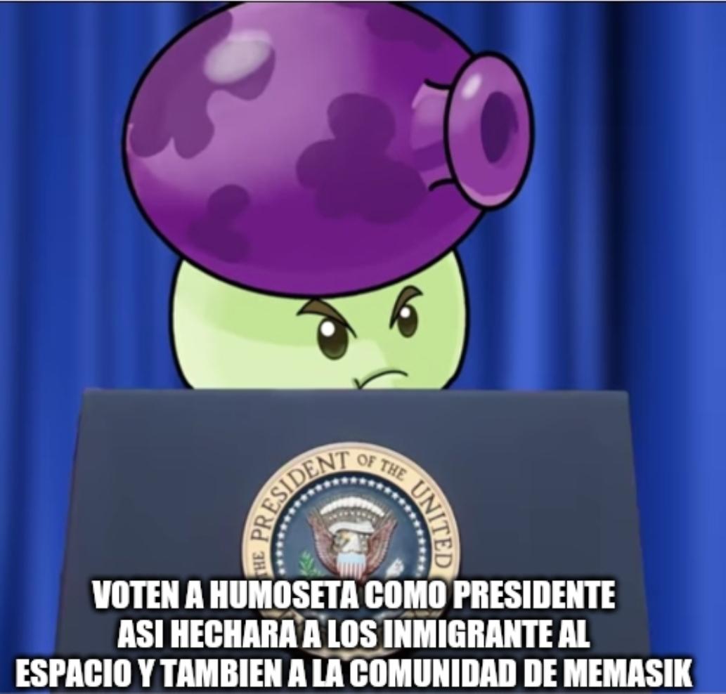 Humoseta presidente forever - meme