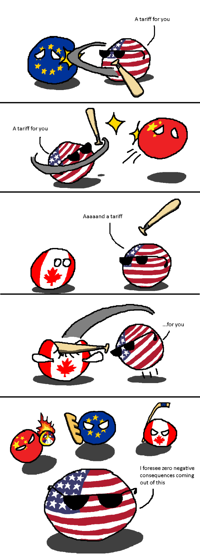 Stupid US ! I have a Baguette for you ! - meme