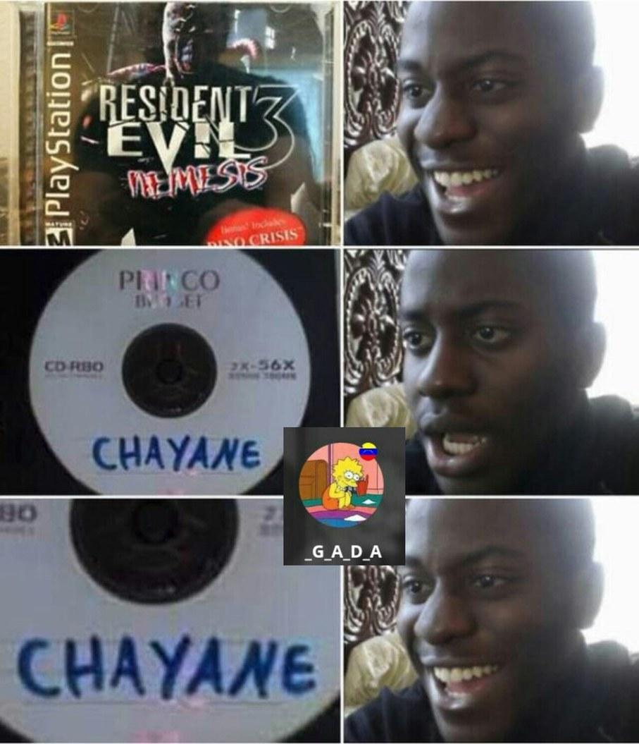 Chayanne - meme