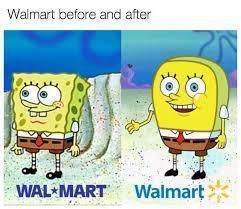 Wal*Mart vs Walmart* - meme