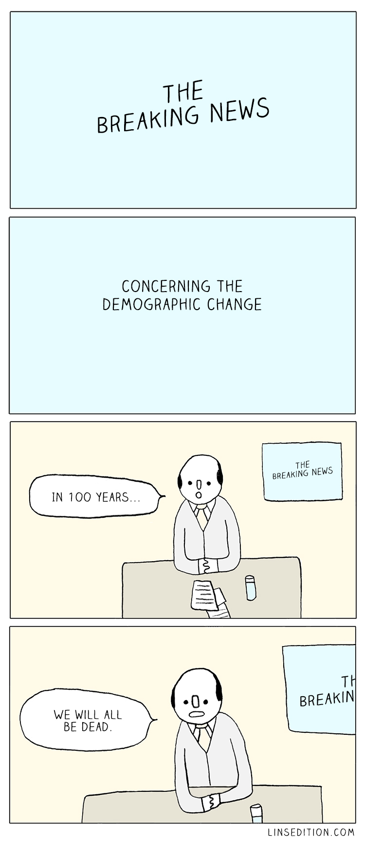 An issue concerning the demographic change - meme