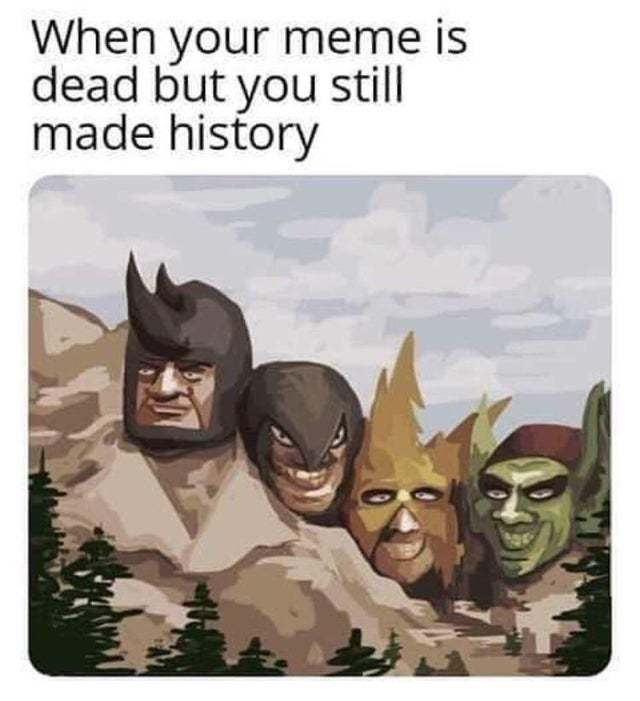 Me and the boys making history - meme