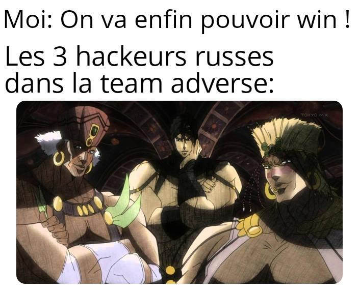 Sacré hackeurs - meme