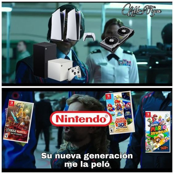 nintendo el rey del marketing - meme