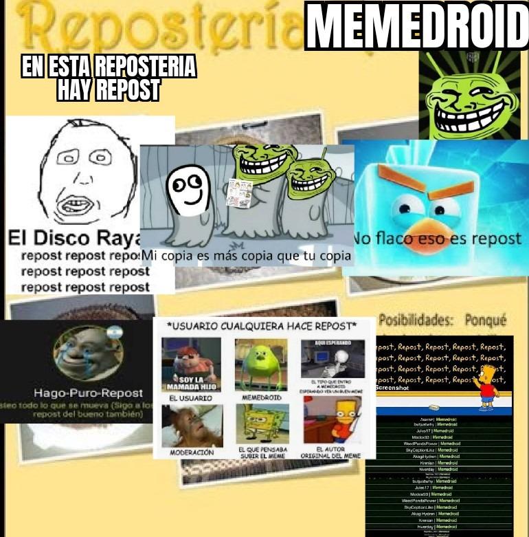 Bienvenidos a la nueva reposteria - meme