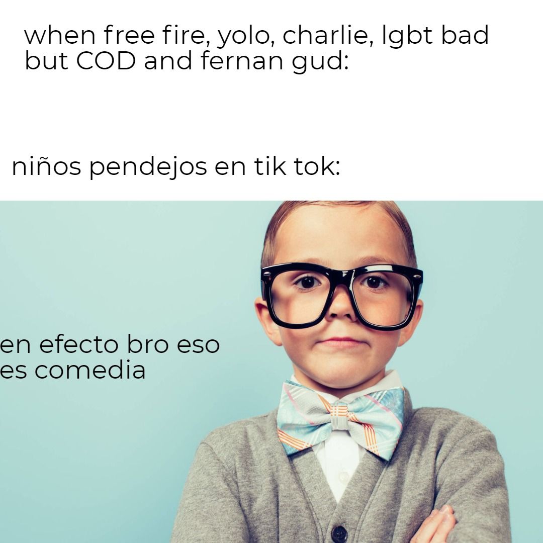 tik tok be like: - meme