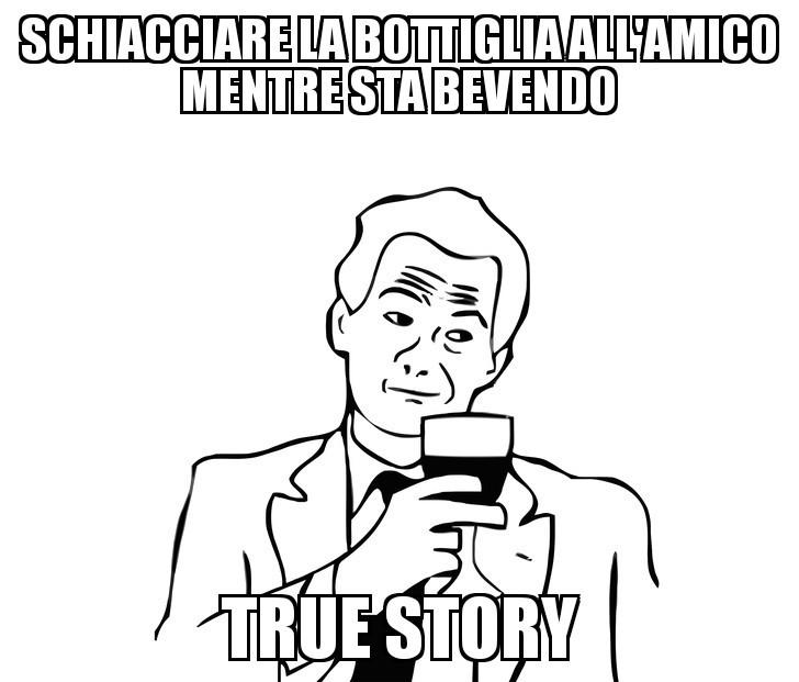 Storia vera - meme