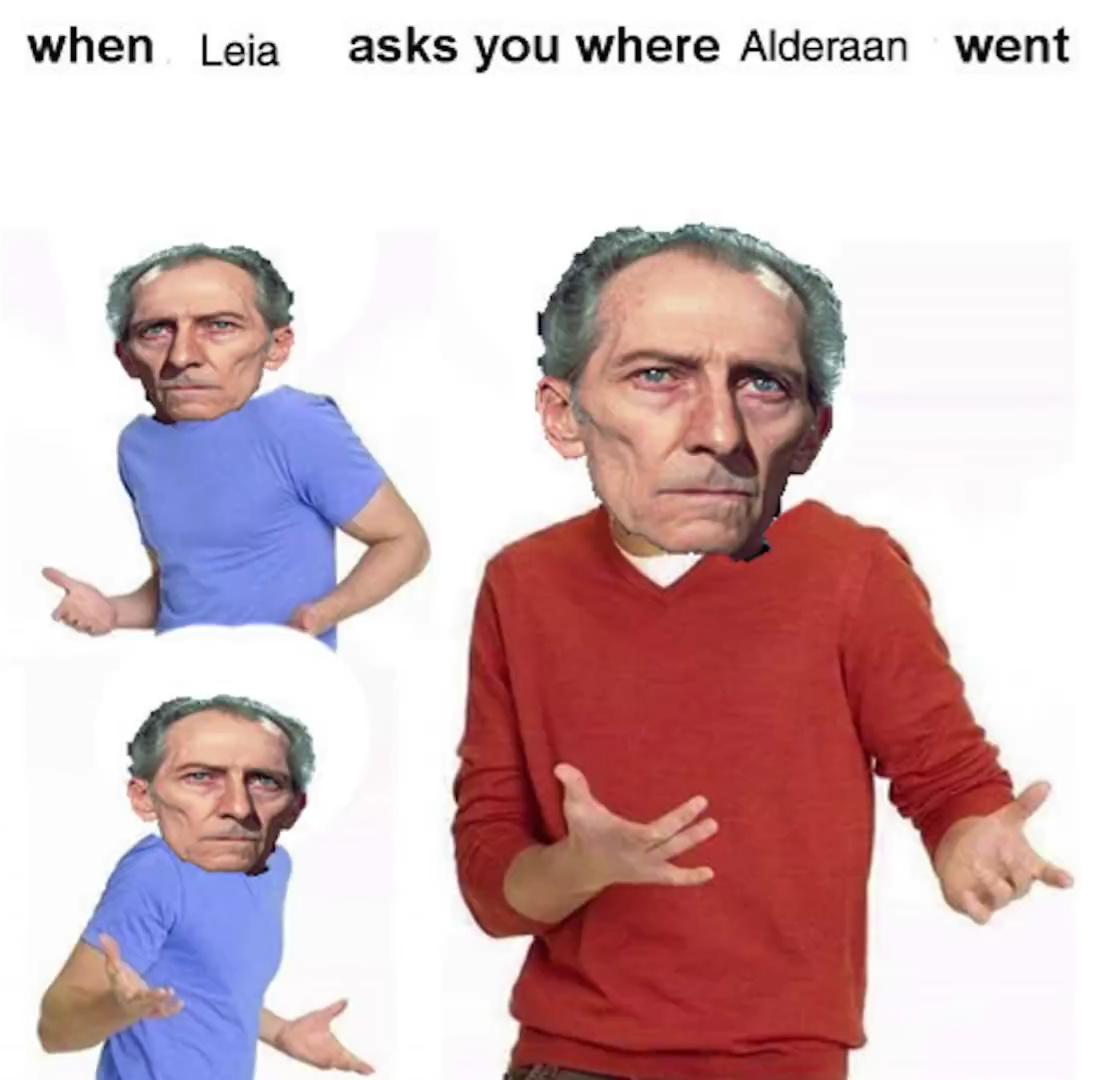 Tarkin did nothing wrong - meme