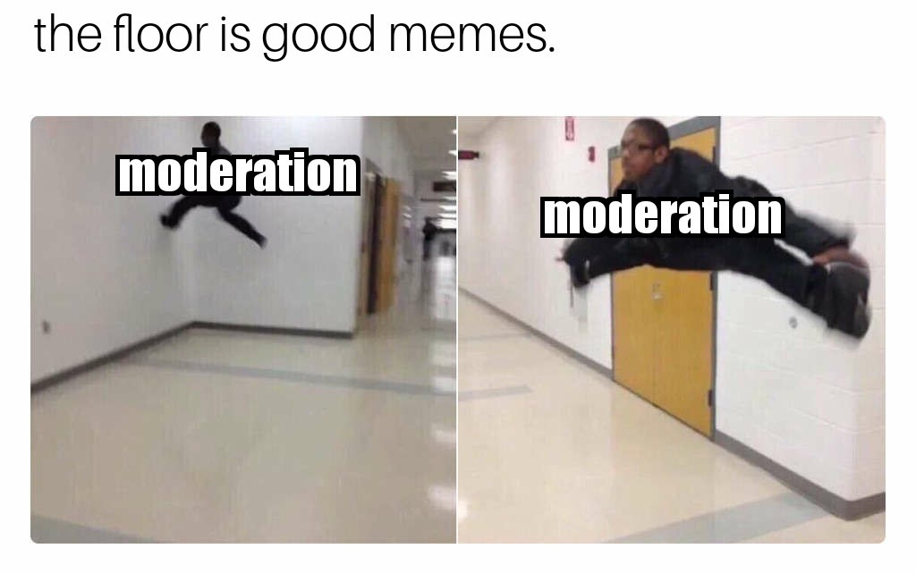 This probably wont get through moderation. - meme