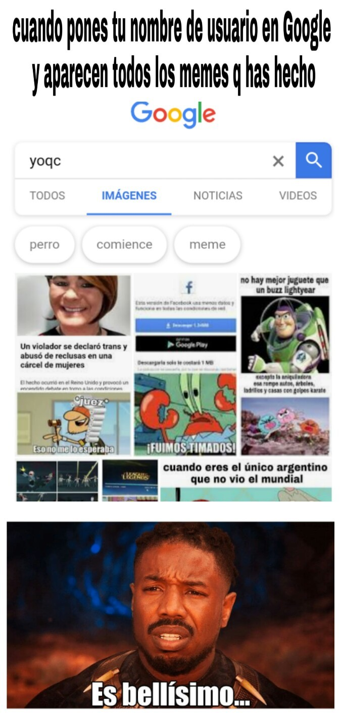 Nada original - meme