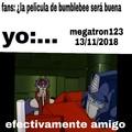 Meme original + plantilla gratis