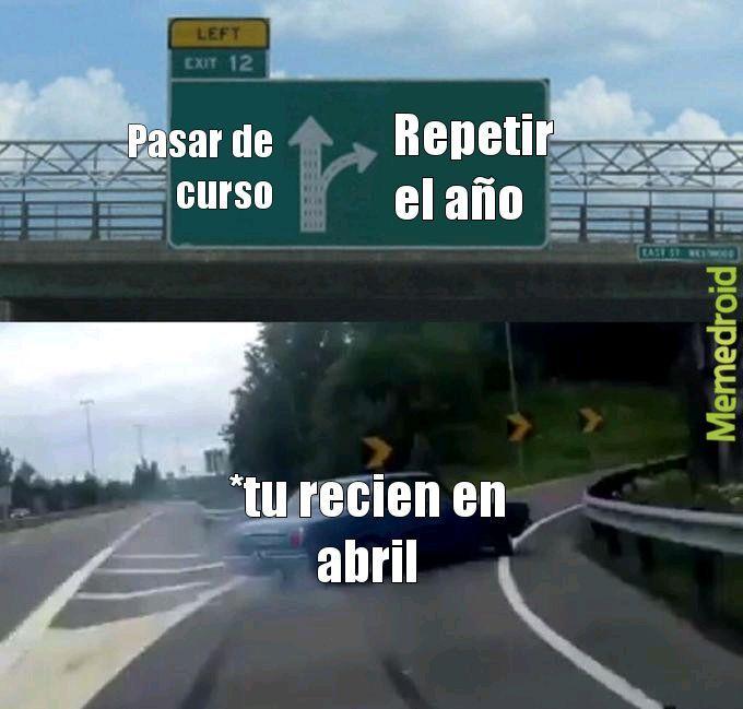Recien en Abril - meme